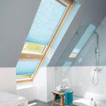 Plissegardiner passer i de fleste typer vinduer, f.eks. takvinduer.